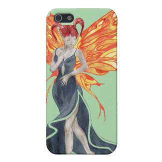 Flutterby Fae (fall-twin 2) iphone4 case iPhone 5 Cases