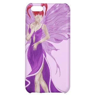 Flutterby Fae grape iphone4 case iPhone 5C Case