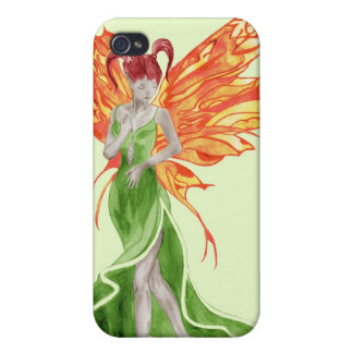 Flutterby Fae (ivy) iphone4 case iPhone 4 Covers