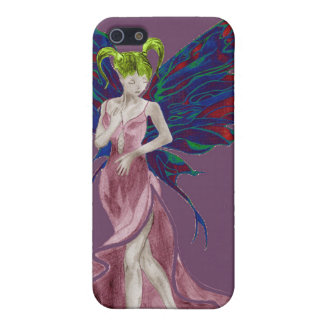Flutterby Fae (Rose) iphone4 case Case For iPhone 5/5S
