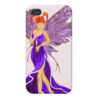 Flutterby Fae (sunbeam) iphone4 case Cover For iPhone 4
