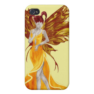 Flutterby Fae (sunbeam) iphone4 case iPhone 4 Cases