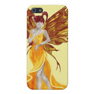 Flutterby Fae (sunbeam) iphone4 case iPhone 5/5S Covers