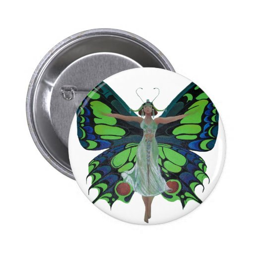 Flutterby Fairy Pins