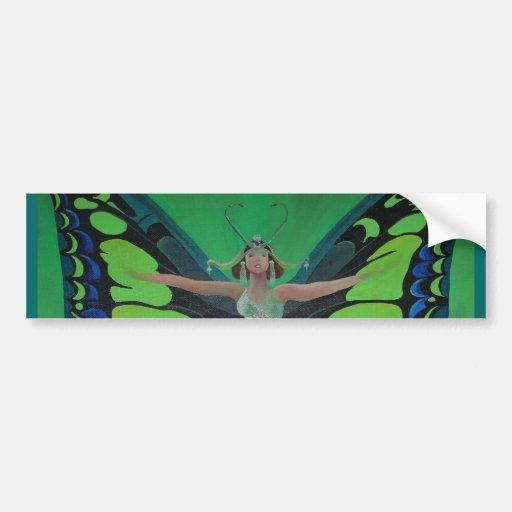 Flutterby Fairy Bumper Stickers