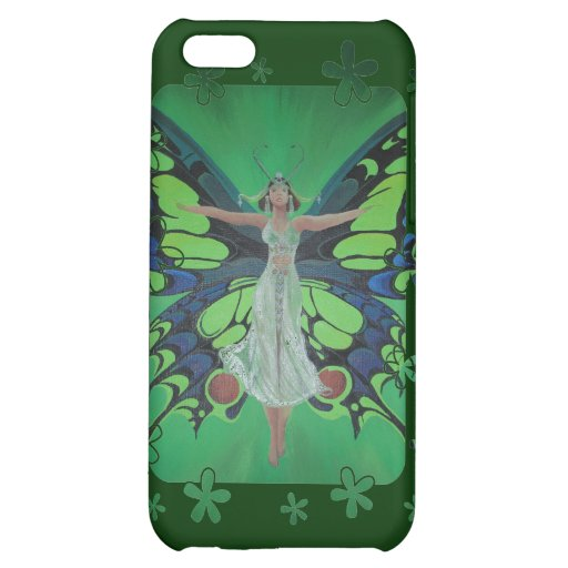 Flutterby Fairy Cover For iPhone 5C