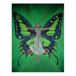 Flutterby Fairy Postcard