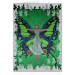 Flutterby Fairy with Leaves