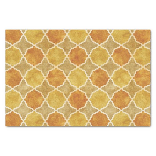 Flutterby Fall Geometric Tissue Paper