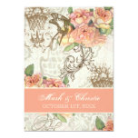 Flutterbyes 'n Roses Elegant Wedding Invites