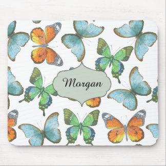 Fluttering Butterflies Mouse Mat