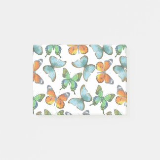 Fluttering Butterflies Post-it Notes