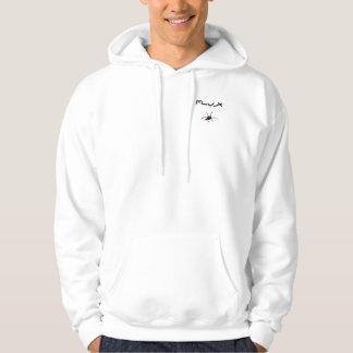 Flux virus spider hoodie