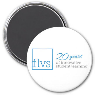 FLVS 20 Years Magnet