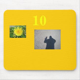 flwer, JG, 10 Mouse Pad