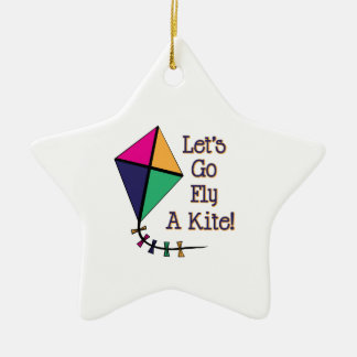 Fly a Kite Christmas Ornament