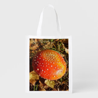 Fly Agaric Mushroom Reusable Bag