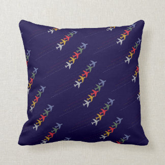 fly / airplanes cushion
