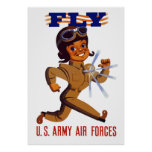 FLY -- Army Air Forces Print