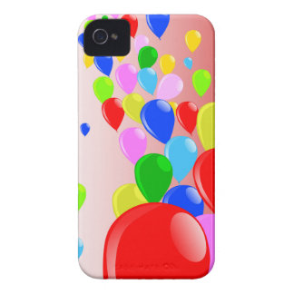Fly Away Balloons iPhone 4 Case