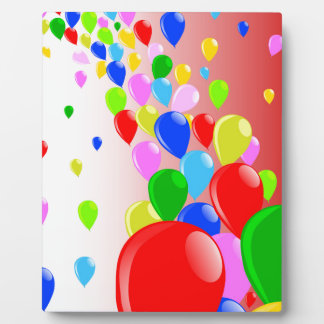 Fly Away Balloons Photo Plaques