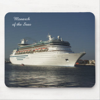 Fly Away! Cruise Ship Mousepad