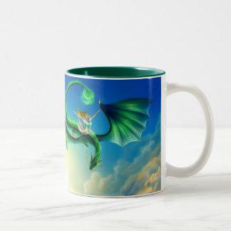 Fly Away Drink Two-Tone Mug
