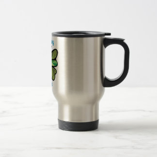 Fly away with me stainless steel travel mug