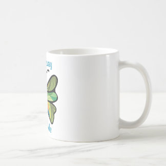 Fly away with me basic white mug