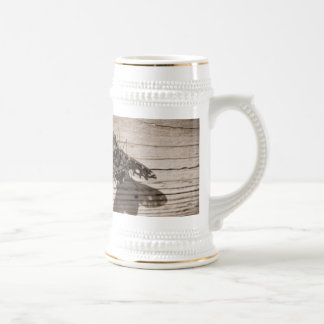 fly back 18 oz beer stein