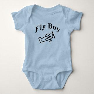 Fly  Boy Baby Bodysuit