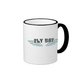 Fly Boy Ringer Mug