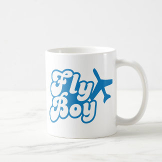 FLY BOY with aeroplane jet Coffee Mug