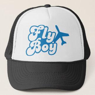 FLY BOY with aeroplane jet Trucker Hat
