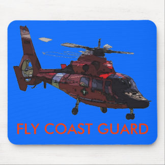 FLY COAST GUARD MOUSE PAD