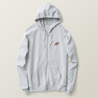 Fly Embroidered Hoodie