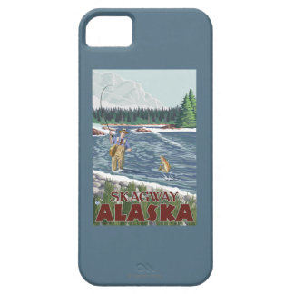 Fly Fisherman - Skagway, Alaska iPhone 5 Covers