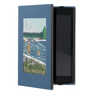 Fly Fisherman - West Yellowstone, Montana Covers For iPad Mini