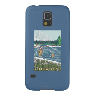 Fly Fisherman - West Yellowstone, Montana Galaxy S5 Cover