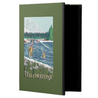 Fly Fisherman - West Yellowstone, Montana iPad Air Case
