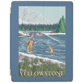 Fly Fisherman - West Yellowstone, Montana iPad Cover