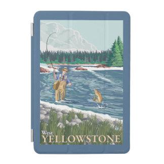 Fly Fisherman - West Yellowstone, Montana iPad Mini Cover