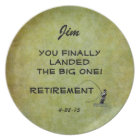 Fly Fisherman - You Landed Big One! Retirement Plate