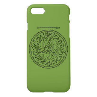 Fly Fisherman's Fly Fishing Reel iPhone 8/7 Case