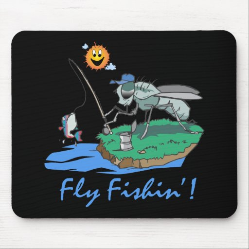 Fly Fishin' Mouse Pads