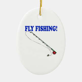Fly Fishing 2 Christmas Ornament