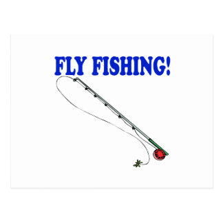 Fly Fishing 2 Postcards