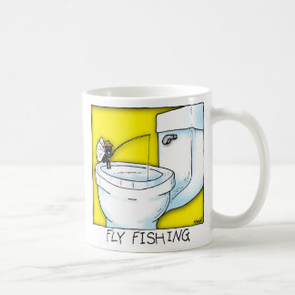 Fly Fishing Basic White Mug