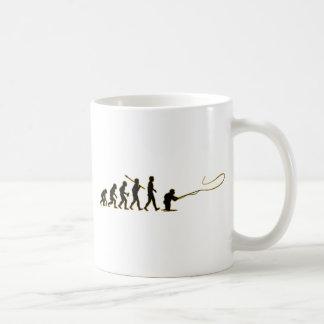 Fly Fishing Basic White Mug