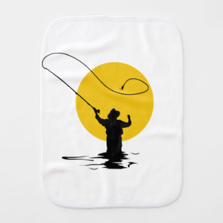 FLY FISHING BURP CLOTH